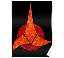Star Trek - Klingon Emblem Poster