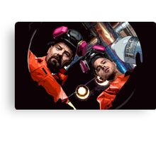 Walter & Jesse are cooking Canvas Print