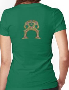 Double Bass Womens Fitted T-Shirt