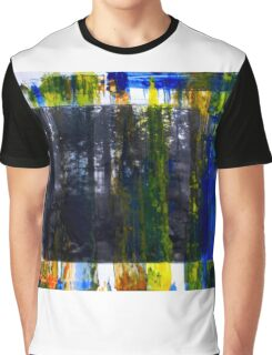 Colored Forest - Original Wall Modern Abstract Art Painting Graphic T-Shirt