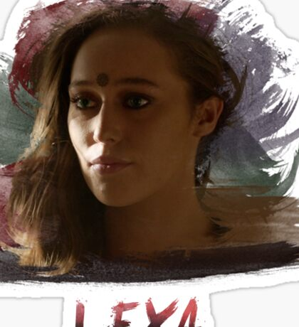 Lexa - The 100 -3 Sticker