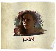 Lexa - The 100 -3 Poster