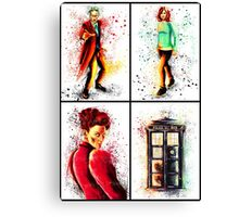 Doctor Who Series 9 Canvas Print