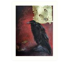 The raven king Art Print
