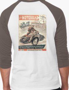vintage sidecar Men's Baseball ¾ T-Shirt