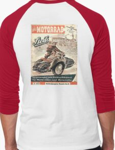 vintage sidecar Men's Baseball ¾ T-Shirt