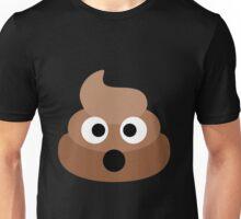 Shocked Poop Emoji Unisex T-Shirt