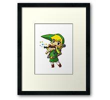 Link Windwaker Tee Framed Print