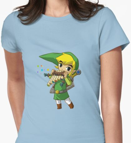 Link Windwaker Tee Womens Fitted T-Shirt