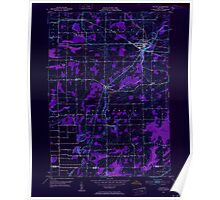 New York NY Holley 129883 1950 24000 Inverted Poster