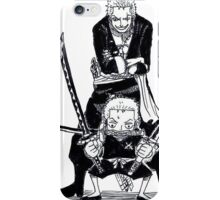 TRAINING ZORO / KID - ADULT iPhone Case/Skin