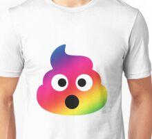 Rainbow Shocked Poop Unisex T-Shirt