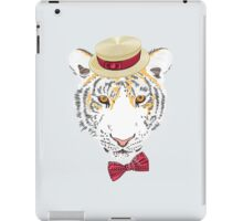 Hipster amur tiger iPad Case/Skin
