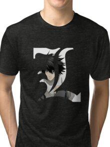 L - DEATH NOTE Tri-blend T-Shirt