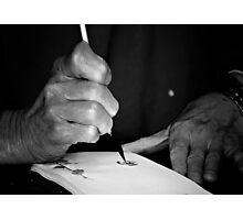Calligraphy Photographic Print
