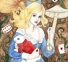 Alice In Wonderland by poisontree
