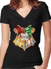 harry potter Women's Fitted V-Neck T-Shirt