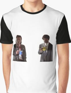 Vincent And Jules Pulp Fiction Graphic T-Shirt