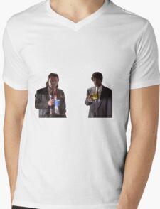 Vincent And Jules Pulp Fiction Mens V-Neck T-Shirt
