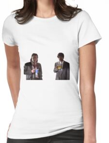 Vincent And Jules Pulp Fiction Womens Fitted T-Shirt