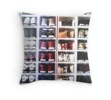 Sneaker Head - Collection Throw Pillow