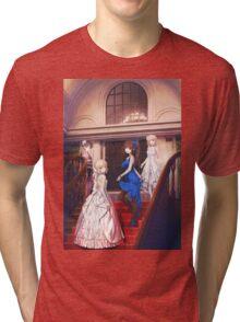 Tsukihime Characters Victorian Dress Tri-blend T-Shirt