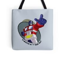 Optimus Prime - Transform and Roll Out Tote Bag