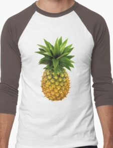 Pineapple Men's Baseball ¾ T-Shirt