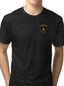 Labradoggi (small logo) Tri-blend T-Shirt