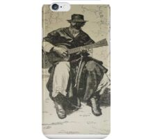 Argentine Gaucho from Butch Cassidy's time iPhone Case/Skin