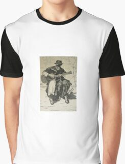 Argentine Gaucho from Butch Cassidy's time Graphic T-Shirt