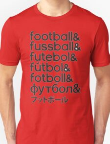 Football languages T-Shirt