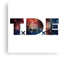 TDE Galaxy Canvas Print