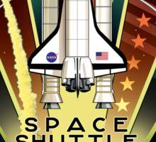Space Shuttle Program logo Sticker