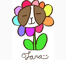 Frenchie Rainbow Flower\ - Tara Unisex T-Shirt