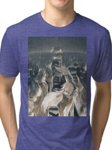 On Top Of The City Tri-blend T-Shirt