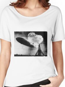 Hindenburg Zeppelin Women's Relaxed Fit T-Shirt
