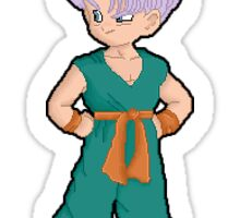 Pixel Trunks Sticker
