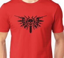 Wings of War graphic Unisex T-Shirt