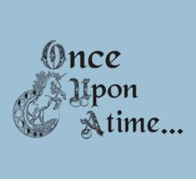 Once upon a time- logo Kids Tee
