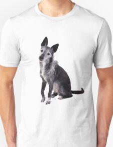 mixed breed dog Unisex T-Shirt