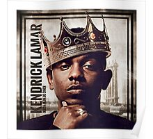 Kendrick the King Poster