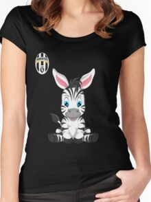 Juventus Fc Baby girl supporter Women's Fitted Scoop T-Shirt
