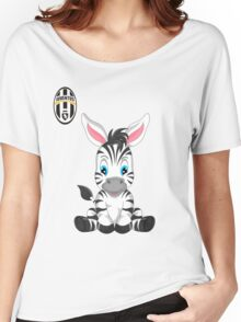 Juventus Fc Baby girl supporter Women's Relaxed Fit T-Shirt