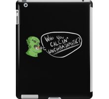 charisma is my dump stat iPad Case/Skin