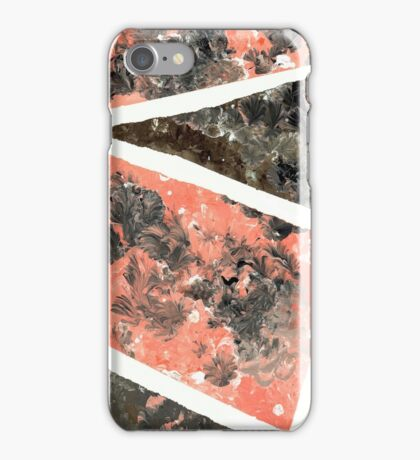Peach Marble iPhone Case/Skin