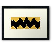 Charlie Brown - Yellow Variant Framed Print
