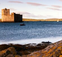 Barra: Kisimul Castle Morning Sticker