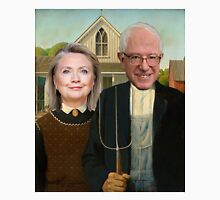 Hillary and Bernie Portrait  Unisex T-Shirt