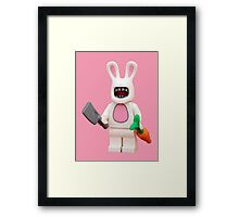 Evil Easter Bunny Framed Print